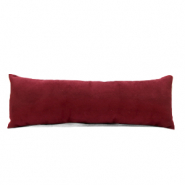 Schmuck Display Kissen Sammt soft Port red