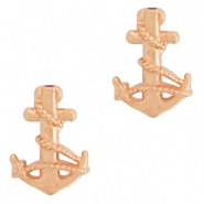 Perle Metall DQ Anchor Rosegold (Nickelfrei)