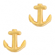 Perle Metall DQ Anchor Gold (Nickelfrei)