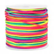 Band Macramé 1.5mm Neon rainbow