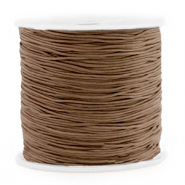 Band Macramé 0.8mm Chestnut brown