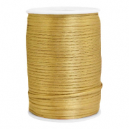 Draht Satin 2.5mm Gold