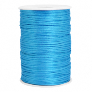 Draht Satin 2.5mm Deep sky blue