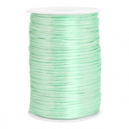 Draht Satin 2.5mm Neo mint green