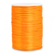 Draht Satin 2.5mm Orange
