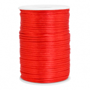 Draht Satin 2.5mm Flame scarlet red