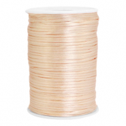 Draht Satin 2.5mm Peachy rose