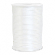 Draht Satin 2.5mm White