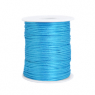 Draht Satin 1.5mm Deep sky blue