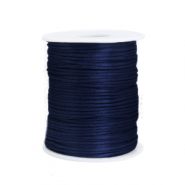 Draht Satin 1.5mm Dark blue
