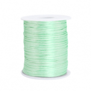 Draht Satin 1.5mm Neo mint green