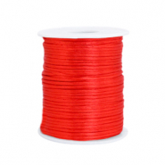 Draht Satin 1.5mm Flame scarlet red