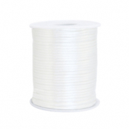 Draht Satin 1.5mm White