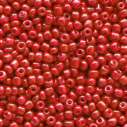 Rocailles Perlen Glas 12/0 (2mm) Crimson red