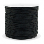 Band Macramé 1.5mm Spar Rolle Black