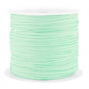 Band Macramé 1.5mm Spar Rolle Neo mint green