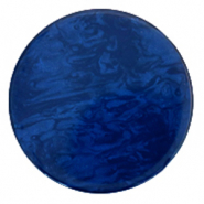 Polaris Elements Cabochons flach 35 mm Lively True blue
