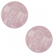 12 mm flach Polaris Elements Cabochon Lively Lavender frost