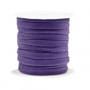 Gestepptes Band elastisch Dark purple