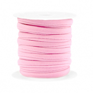 Gestepptes Band elastisch Light pink