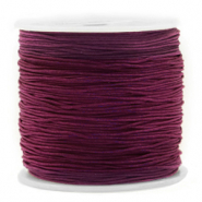 Band Macramé 0.8mm Royale aubergine purple