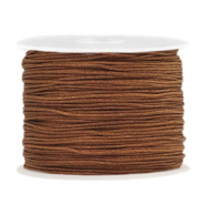 Band Macramé 1.0mm Pecan brown