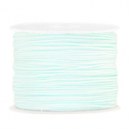 Band Macramé 1.0mm Frosted blue