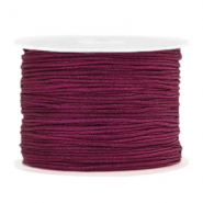 Band Macramé 1.0mm Aubergine purple