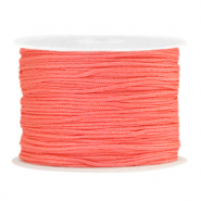 Band Macramé 1.0mm Coral Red
