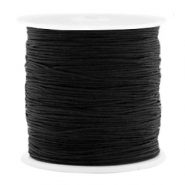Band Macramé 0.8mm Black