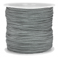 Band Macramé 0.8mm Slate grey
