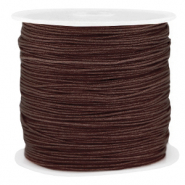 Band Macramé 0.8mm Chocolate brown