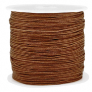 Band Macramé 0.8mm Pecan brown