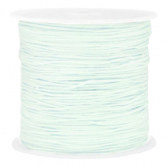 Band Macramé 0.8mm Frosted blue