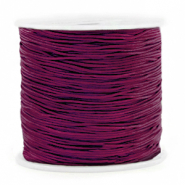 Band Macramé 0.8mm Aubergine purple