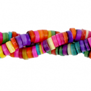 Perle Muschel Disc 6mm Multicolour