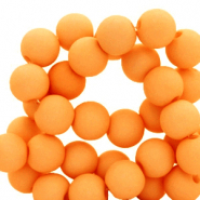 8 mm Perlen aus Acryl matt Orange peel