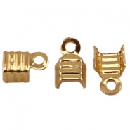 DQ Lintklemmen 4mm gold plated