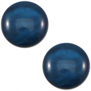Polaris Cabochon 12 mm Mosso shiny denim blue