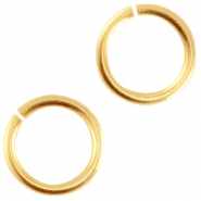 Metall DQ  Bindering 5.5mm Gold (nickelfrei)