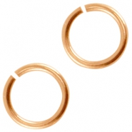 Metall DQ  Bindering 5mm Rosegold (nickelfrei)