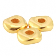 Metall DQ Perle 4.8x1.9mm Gold (nickelfrei)