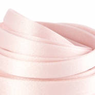 DQ Seiden Band flach 10mm Light rose