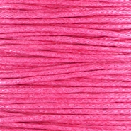 Kordel aus Wachs 1.0 mm Hot pink