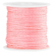 Satin Macramé Satinband 0.8 mm Bright rose peach