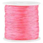 Satin Macramé Satinband 0.8 mm Raspberry rose