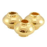 Perle DQ Metall Kegel Gold (nickelfrei)