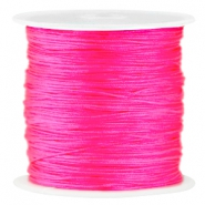 Satin Macramé Satinband 0.8 mm Neon Pink
