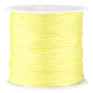 Satin Macramé Satinband 0.8 mm Tender yellow