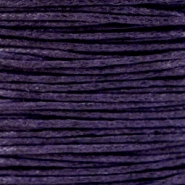 Kordel aus Wachs 1.0 mm Dark Purple